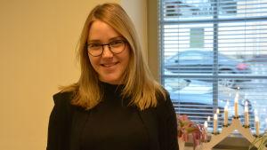 Sofia Holmqvist-Jämsén, universitetslärare i logopedi vid Åbo Akademi
