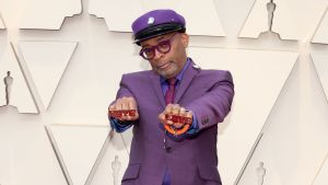 Spike Lee på Oscarsgalan 2019.