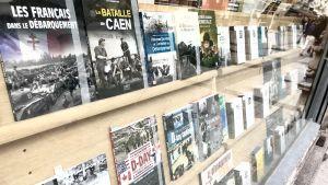 Bokhandel med krigsrelaterad litteratur