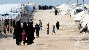 Al-Hol i Syrien.