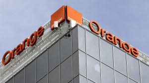 Fasaden till Orange, tidigare France Telecom.