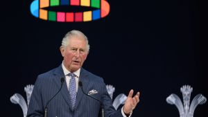 Prins Charles i Davos-talarstolen