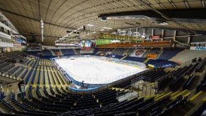 Ishallen i Hakametsä var Finlands första och stod klar 1965.