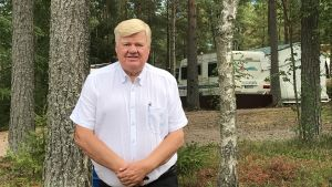 Christer Andersson på Sondby Caravan