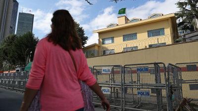 Skottlossning mot usas konsulat i istanbul