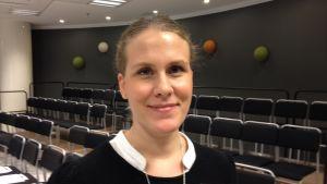 Jessica Gustafsson arbetar vid Nordiskt välfärdscenter
