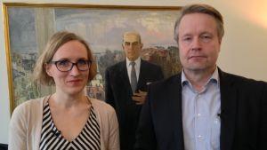 Marjut Tervola ja Matti Apunen