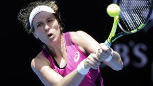 Johanna Konta är klar för semifinal i australiska öppna.