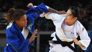 Rafaela Silva vann OS-guld i judo.