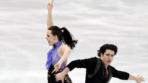 Tessa Virtue och Scott Moir, VM 2017.