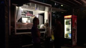 Food Truck vid Nationaltheater Reinickendorf