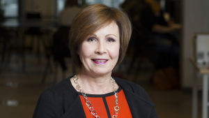 Sari Lindblom, vicerektor på HU.