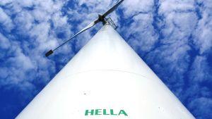 De fyra vindkraftverken i Korsnäs heter Hella, Bella, Ella och Stella.