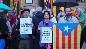 Självständighetsivrare i Baskien.