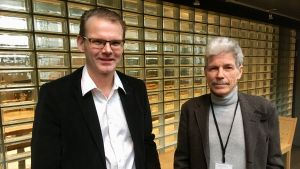 Eero Linjama och Mikko Heiniö