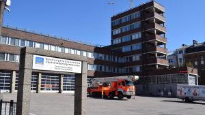 Berghälls brandstation i Helsingfors
