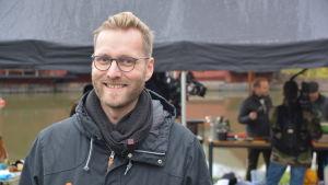 Borgå stads marknadsföringsplanerare Jan Kristian Forsman
