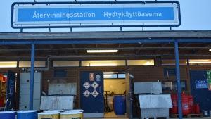 Stormossens återvinningsstation