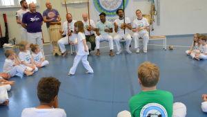 En capoeiraträning.