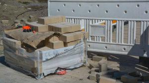 bild på byggarbetsplats