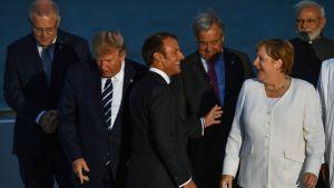 Macron & company på G7.