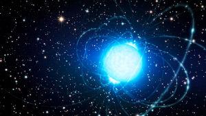 Taiteilijan näkemys magnetarista