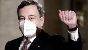 Mario Draghi 12 februari