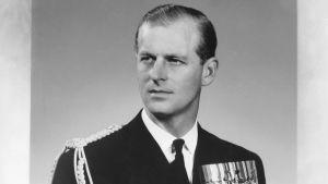 Prins Philip runt år 1950.