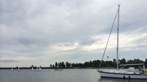 Segelbåtar i Vasa.