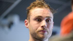 Ilari Filppula är en finsk ishockeyspelare.
