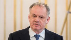Andrej Kiska, president i Slovakien