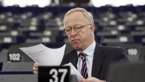 Europaparlamentarikern Gunnar Hökmark.