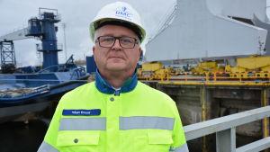 Håkan Enlund, Rauma Marine Constructions försäljningsdirektör