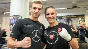 Edis Tatli och Eva Wahlström.