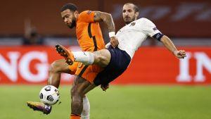Italien-Holland i Nations League