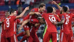Bayern München firar mål