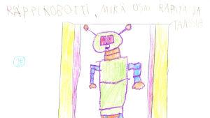 Pikku Kakkosen posti: Räppirobotti