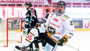 Radek Koblizek firar mål.