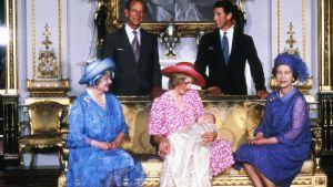 Brittiska kungafamiljen 1982.