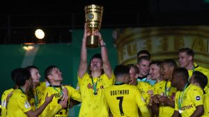 Dortmund firar cupsegern