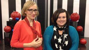 Marjut Tervola tapasi Katja Lapin MTV3:n Putouksen studiolla.