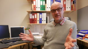 dagvårdschef Tom Enbacka i Jakobstad