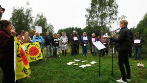 Nätverket Kärnkraftsfritt Bottenviken har deltagare från Kiruna i norr till Sundsvall i söder.