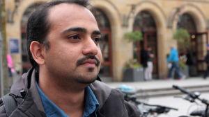 Sunil Gopalakrischna har studerat i Tyskland sedan år 2014.