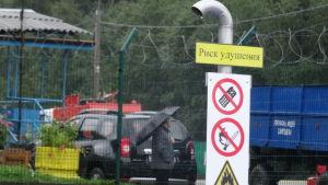 Metangasfabrik i Vitebsk