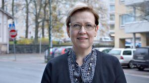 Leena Setälä, direktör för sjukvårdsdistriktet Egentliga Finlands Sjukvårdsdistrikt.