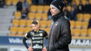 Vesa Vasara såg sitt FC Honka besegra SJK i kvartsfinalen i finska cupen.