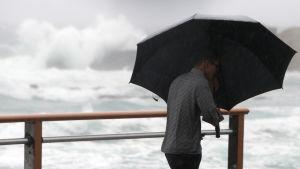 Tyfonen Soulik drabbade främst södra Sydkorea medan Seoul klarade sig undan det värsta