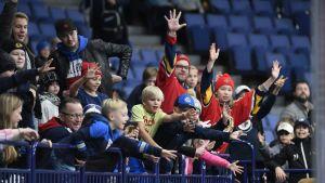 Finska fans.