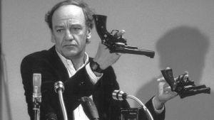 Hans Holmér, polischef som utredde mordet på Olof Palme 1986.